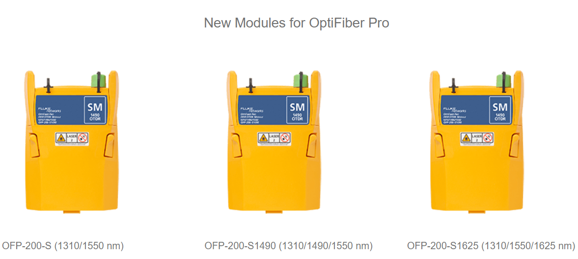 Fluke OptiFiber Pro HDR OTDR S1490 Kit
