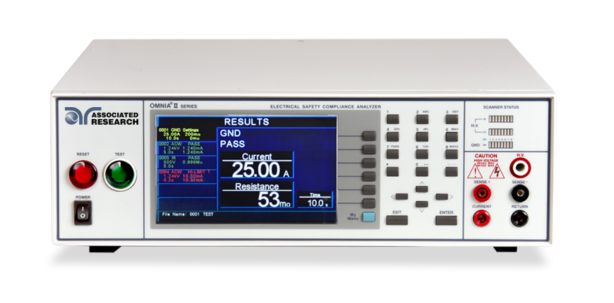 Associated Research OMNIA II 8207 Electrical Safety Compliance Analyzer