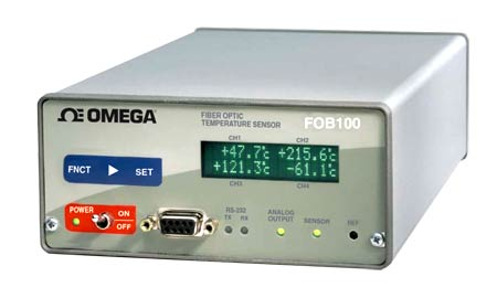 Omega FOB104 Fiber Optic Thermometer