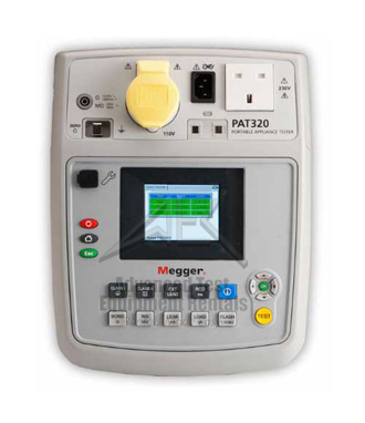 Megger PAT320 Portable Appliance Tester