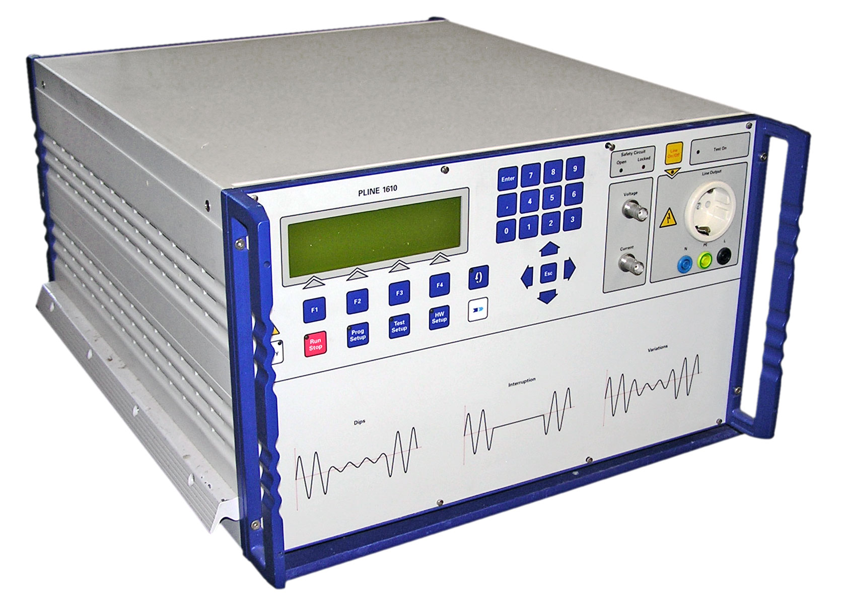 Haefely PLINE 1610 Voltage / Interruption Tester for IEC 61000-4-11