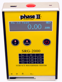Phase II SRG-2000 Surface Roughness Tester Profilometer