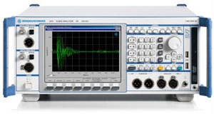 Rohde & Schwarz UPV Audio Analyzer