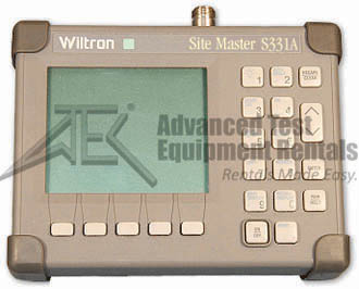 Rent Anritsu S331 Site Master Cable and Antenna Analyzer