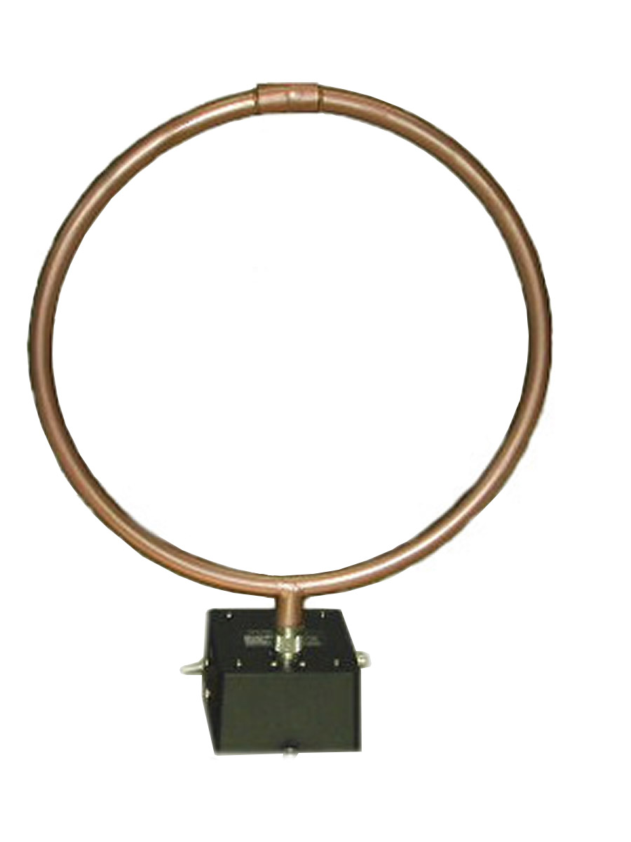 AH Systems SAS-563B Active Loop Antenna 1 kHz to 30 MHz