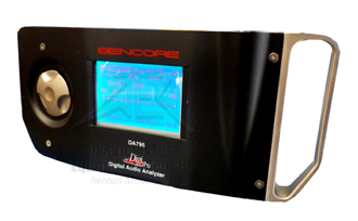 Sencore DA795 DigiPro Digital Audio Analyzer