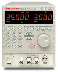 Sorensen XDL 35-5P 35V, 3A, 105W DC Linear Power Supply