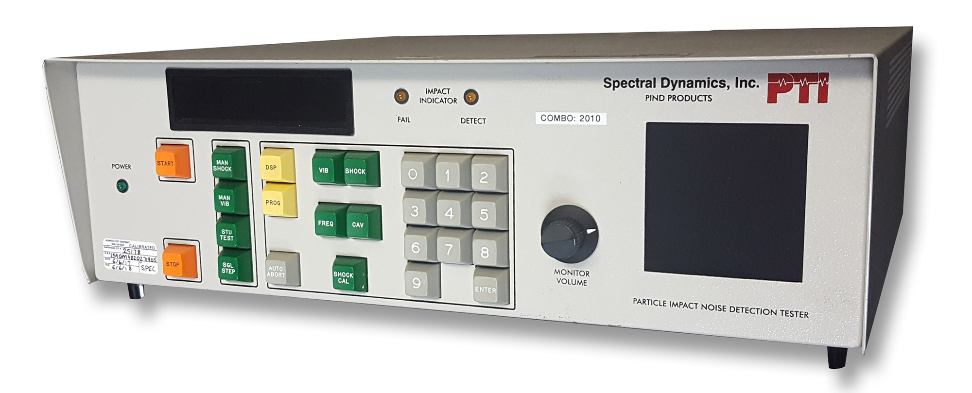 Spectral Dynamics (Dunegan/Endevco) 4511M Particle Impact Noise Detector System