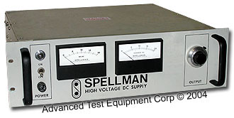 Spellman RHR20PN30 HV DC Power Supply