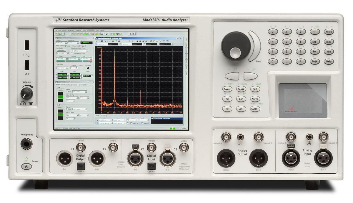 Stanford Research Systems SR1 Audio Analyzer