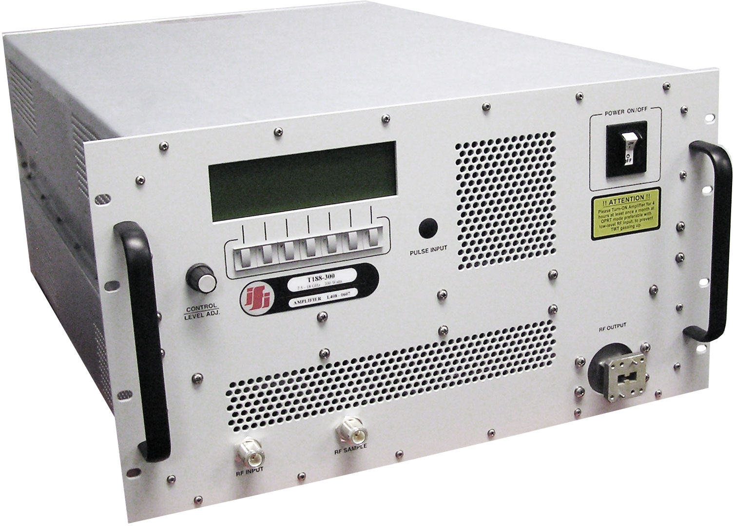 Rent IFI T188-500 High Power Amplifier 7.5 GHz - 18 GHz, 500 Watt