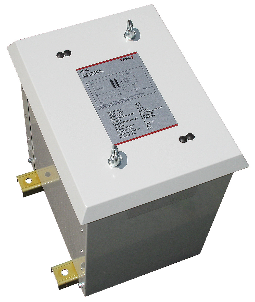 Teseq ITF 14A Isolation Transformer 60 dB