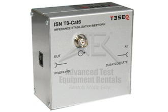 Teseq ISN T8-CAT6 Impedance Stabilization Network