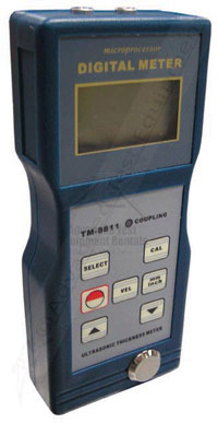 Reed TM-8811 Digital Thickness Gauge with Velocity Function