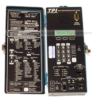 TTC TPI 550B ISDN Basic Rate Test Set