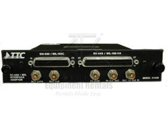 Acterna/TTC 41440A T1/FT1 Interface