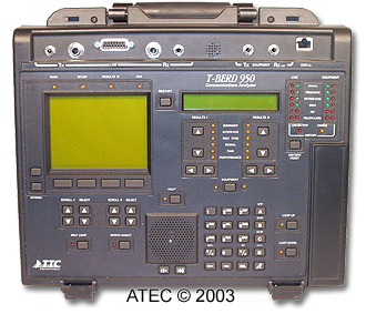 TTC  T-BERD 950 Communications Analyzer
