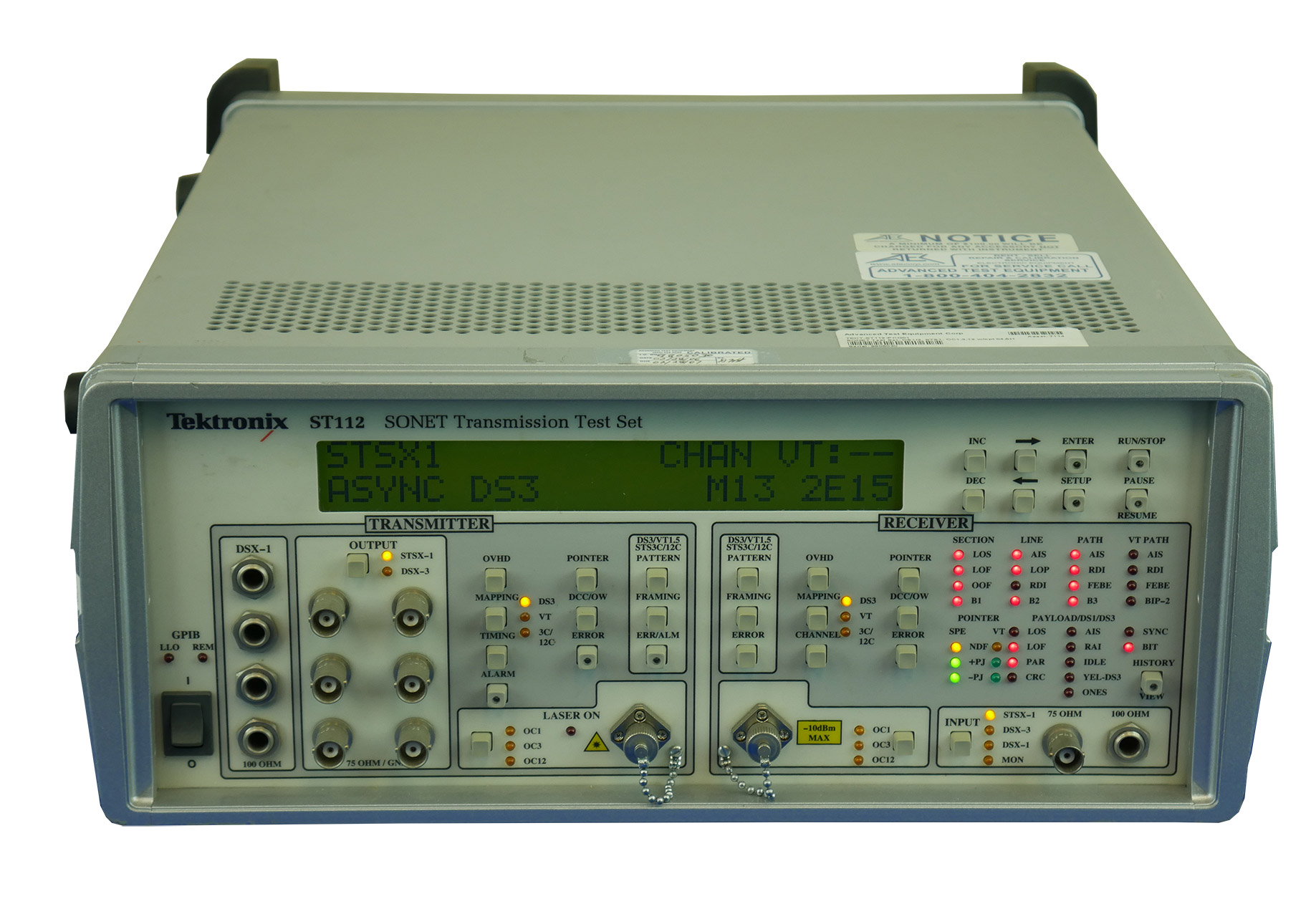Tektronix ST112 SONET Test Set