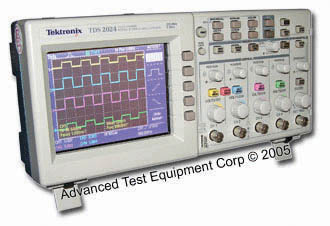 tektronix tds 460a user manual