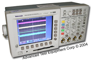 Rent Tektronix TDS3054B Digital Oscilloscope 500 MHz, 5 GS/s
