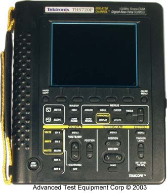 Tektronix THS720 Handheld Digital Oscilloscope 100 MHz, 500 MS/s