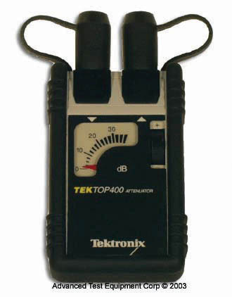 Tektronix TOP400 Optical Attenuator