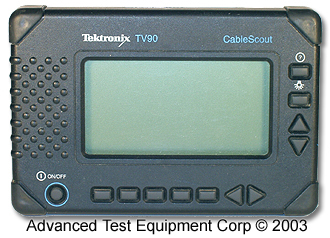 Tektronix TV90 Time Domain Reflectometer (TDR)