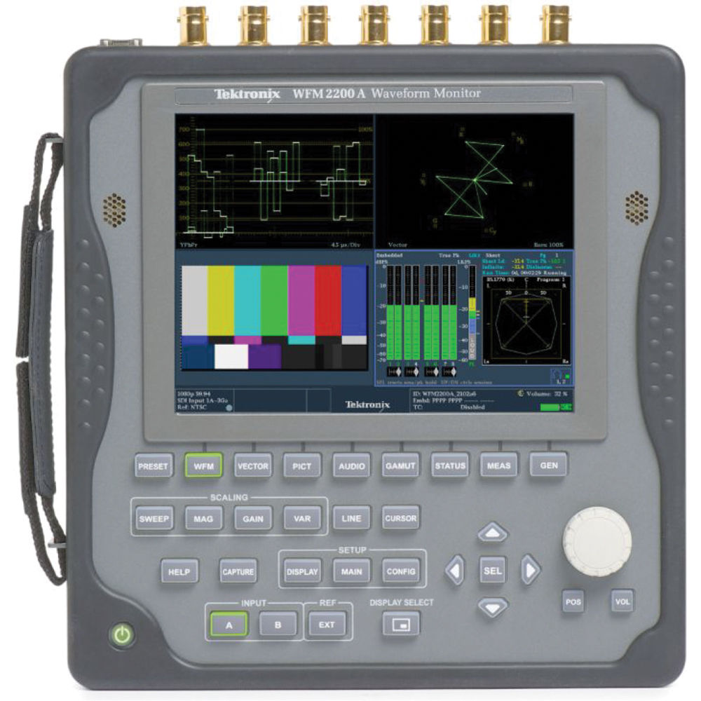 Tektronix WFM2200A Portable Waveform Monitor
