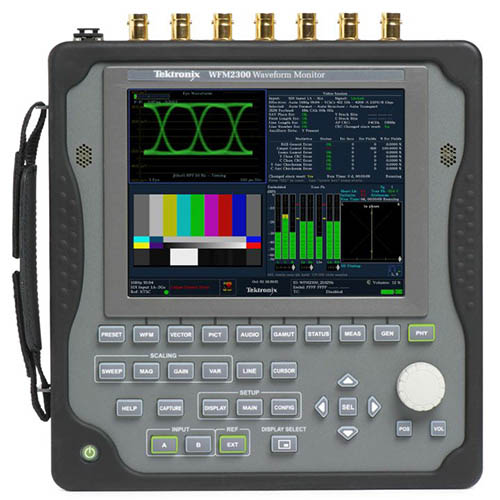 Tektronix WFM2300A Portable Waveform Monitor