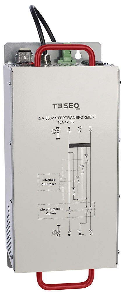Teseq INA 6502 16A Programmable Step Transformer