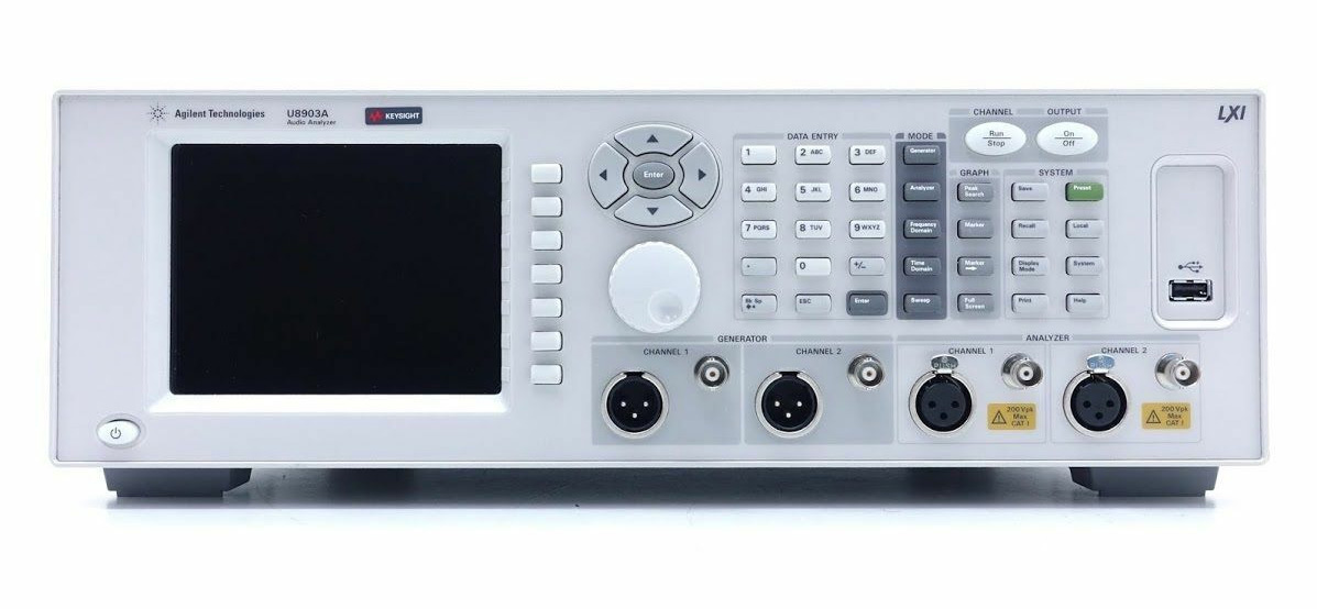 Keysight U8903A Audio Analyzer, 10 Hz - 100 kHz