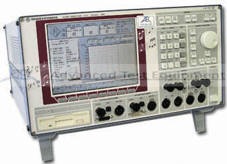 Rohde & Schwarz UPD Audio Analyzer