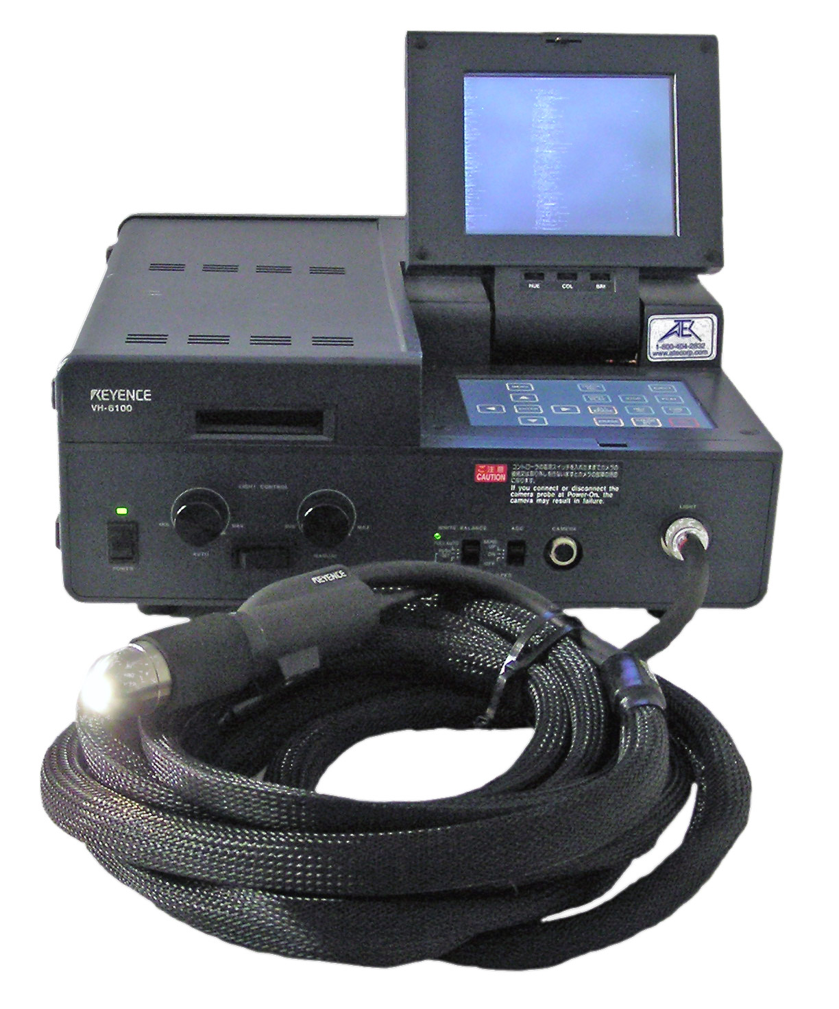 Keyence VH-6100 Digital Microscope with a Built-In Monitor