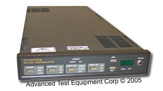 Videotek DM-200A Frequency Agile Demodulator