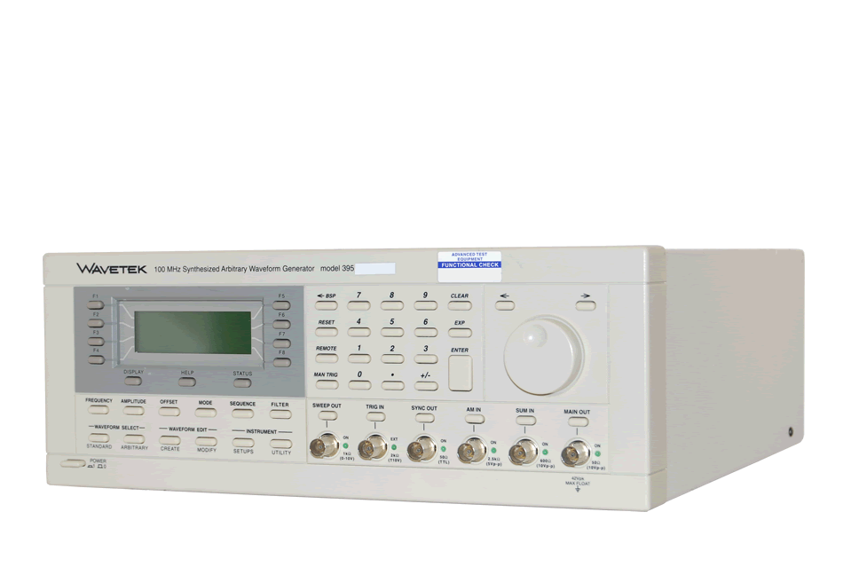 Wavetek 395 Synthesized Arbitrary Waveform Generator