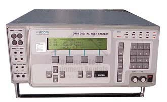 Wilcom D400 T1 Digital Test System