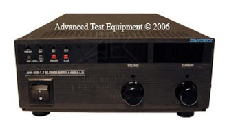 Rent, Buy, or Lease the Xantrex XHR 600-1.7 DC Power Supply | 600V | 1.7A - Advanced Test Equipment Rentals | Call (800) 404-2832 for pricing...
