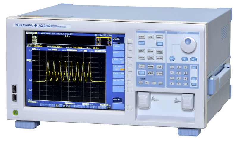 Rent Yokogawa AQ6370D Telecom Optical Spectrum Analyzer 600 - 1700 nm