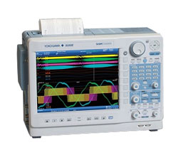 Yokogawa DL850E ScopeCorder Real Time Power Analysis 200 VA