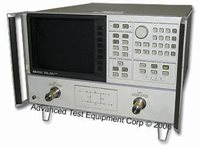 Keysight 8720A Network Analyzer with Time Domain Capability