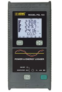 AEMC PEL 103 Power and Energy Logger, 6 Channel