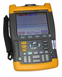Fluke 199C-S Color Scopemeter 2 Ch, 200 MHz, 2.5 GS/s
