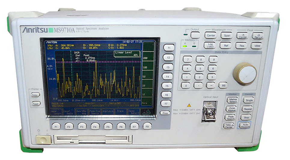 Anritsu MS9710A Optical Spectrum Analyzer