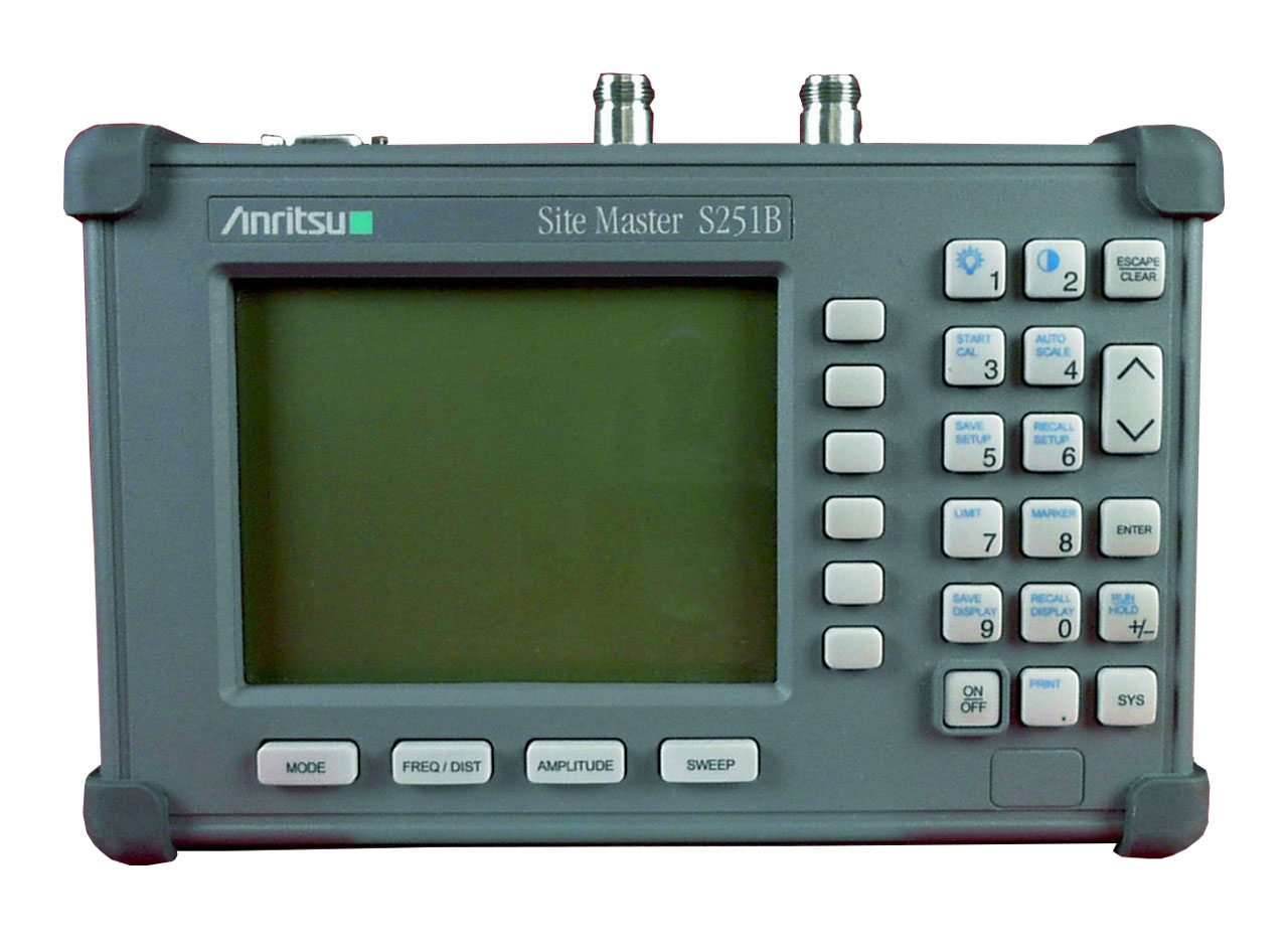 Anritsu S251B Site Master Cable and Antenna Analyzer