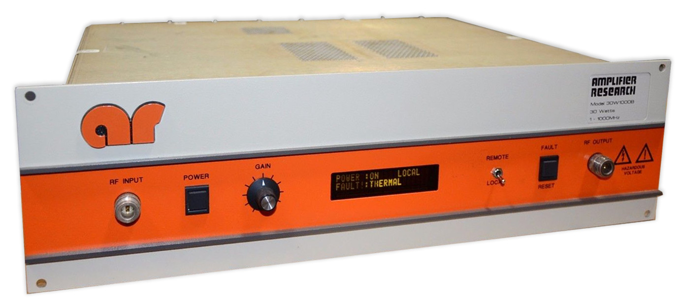 Amplifier Research 30W1000B 1 MHz - 1 GHz, 30 Watt Solid-State Amp