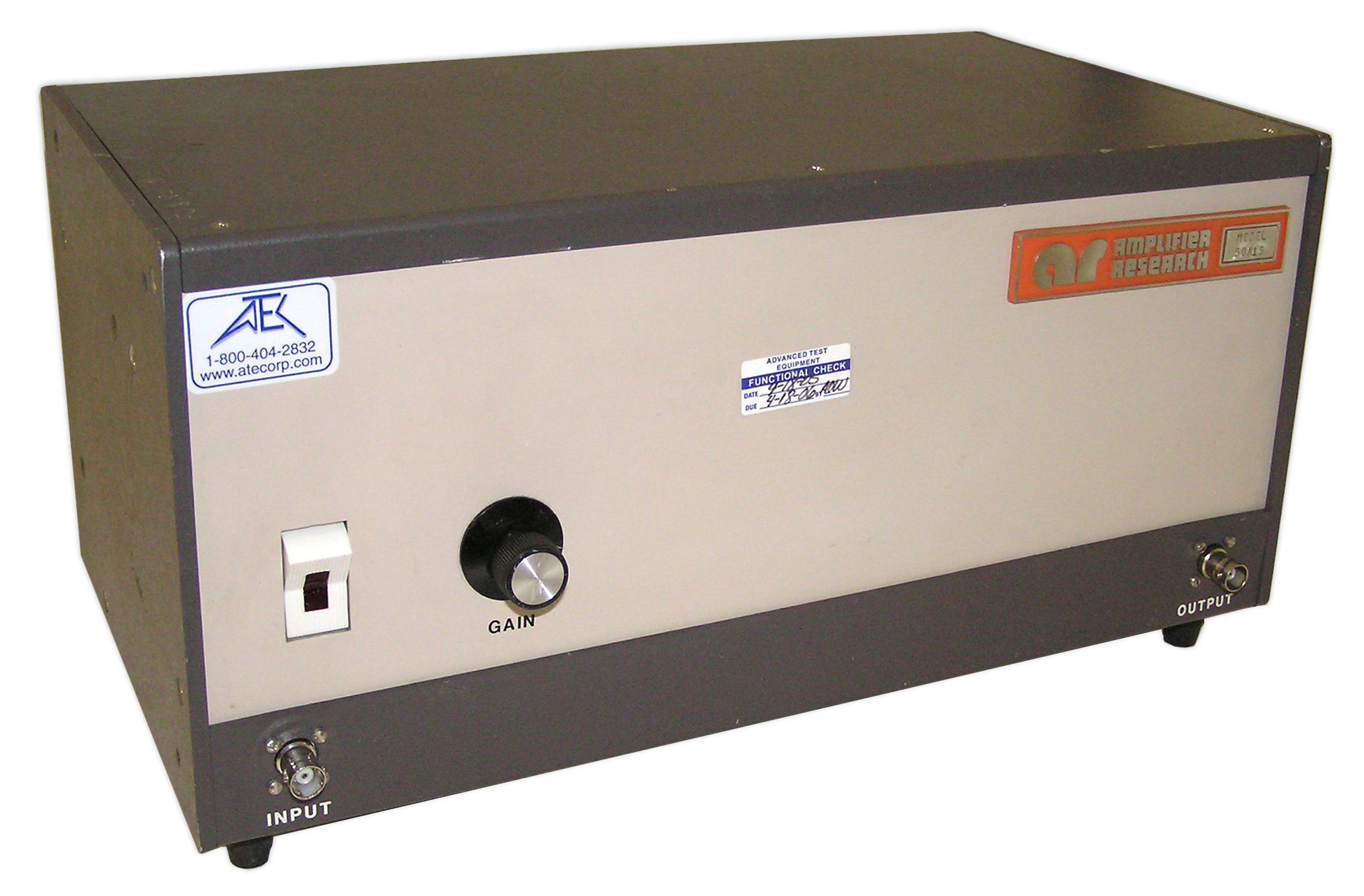 Amplifier Research 50A15  Amplifier 20 kHz - 15 MHz  50 Watts