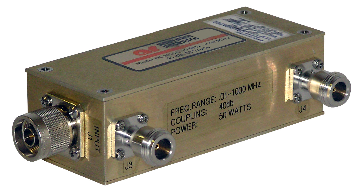 Amplifier Research DC3010A Dual Directional Coupler 10 kHz - 1 GHz