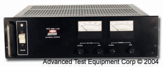 Rent Sorensen DCR 600-1.5B DC Power Supply, 600 Volts, 1.5 Amps
