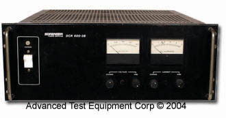 Sorensen DCR600-3B 600 Volt DC Power Supply