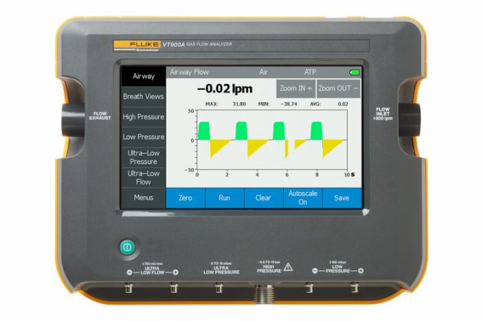 Fluke Biomedical VT900A Gas Flow Analyzer